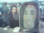 chalk pastel fifteen minutes Shanaaz By Artymis